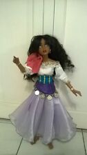 "Disney The Hunchback of Notre Dame Esmeralda OOAK 20"" Lorifina Doll Hasbro Good"