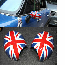 UNION JACK Rear Mirror Cover Protection Shell For Mini Cooper WING R55 R56 ​Pair