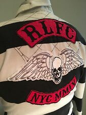 Rugby By Ralph Lauren Vintage NYC Motorcycle Gang Rugby Size Medium