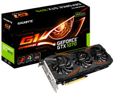 Gigabyte NVidia GeForce GTX 1070 8GB GV-N1070 G1 Gaming 8GD PCI-E Graphics Card