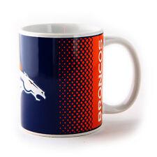 NFL DENVER BRONCOS NEW FADE DESIGN CERAMIC TEA COFFEE MUG CUP XMAS GIFT