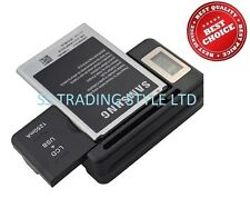 BATTERY DESKTOP CHARGER TRAVEL DOCK for SAMSUNG GALAXY NOTE 2 N7100 USB LCD UK