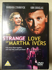 Barbara Stanwyck Kirk Douglas STRANGE LOVE OF MARTHA IVERS ~ 1946 | UK DVD