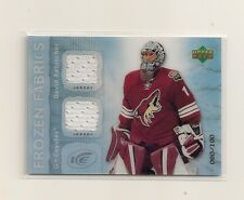 2007-08 Upper Deck ICE Frozen Fabrics David Aebischer Double Jersey 080/100