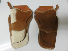 "Holsters: Pair of ""Hair On"" for Single action Colts"