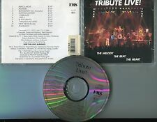 Tribute Live CD THE MELODY THE BEAT THE HEART © 1990 - German-10-track-CD - ROCK