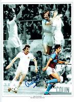 Alan DEVONSHIRE Signed Autograph 16x12 West Ham United Montage Photo AFTAL COA