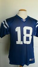NFL Apparel Reebok Indianapolis Colts Payton Manning Jersey Youth XL (18-20)