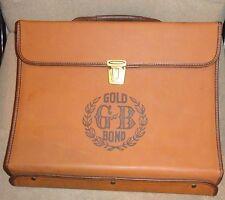 VINTAGE GOLD BOND PENCILS SALESMAN SAMPLE DISPLAY CARRYING CASE