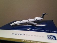 Gemini Jets 1:400 Scale United Express ERJ-145 (Post-Merger colors) GJUAL1523