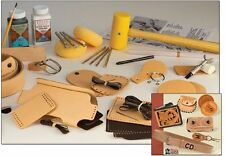 Deluxe Leathercraft Set (55502-00) White Bear Leather