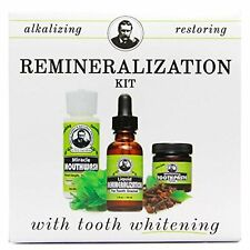Uncle Harry's Remineralization Kit with Whitening Toothpaste Polish (1 kit)