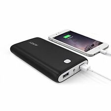 New Aukey 20000Mah Portable External Battery Charger Power Bank