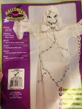 Cool Ghoul Costume, Ghost Boy- Girl Large Size 12-14 Rubie's