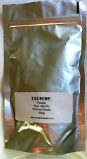 TAURINE Powder 500g - 100% PURE TAURINE- Free- UK POSTAGE