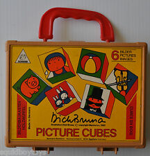 DICK BRUNA Miffy PICTURE CUBE PUZZLES 1982 w/ box