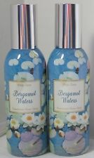 White Barn Bath & Body Works Concentrated Room Spray Bergamot Waters Set Lot 2