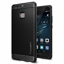 Huawei P9, Spigen Case Rugged Armor Black L06CS20376
