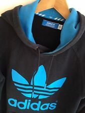 ADIDAS ORIGINALS MENS M 38-42  TREFOIL LOGO HOODED SWEATSHIRT HOODIE JUMPER