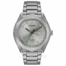-NEW- Citizen Super Titanium Eco-Drive Solar Watch AW0060-54A