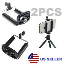 2x Smart Phone Iphone Monopod Tripod Mount Adapter Clip Bracket Holder US Seller