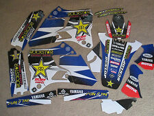 FLU TEAM ROCKSTAR GRAPHICS YAMAHA YZ125 YZ250  YZ 1996 1997 1998 1999 2000 2001