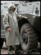 NEW NBC ANTI NUCLEAR BIOLOGICAL AND CHEMICAL  RAINCOAT WATERPROOF  WITH HOOD