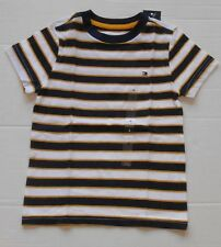 Tommy Hilfiger Boys Solid, Stripe, Graphic Short Sleeve T-Shirt Many Styles!