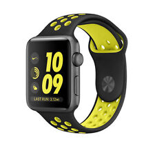 REPLACEMENT SILICONE NIKE SPORT BAND STRAP For 38MM Apple Watch Series 2 / 1