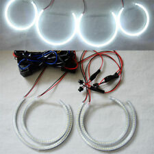 4 X  SMD LED ANGEL EYES HALO RINGS super bright white For BMW 2000-2003 X5 E53
