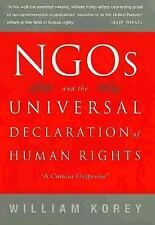 NGO's and the Universal Declaration of Human Rights: A Curious Grapevi-ExLibrary