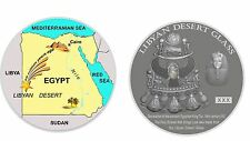 NEWEST!!! Coin-Medal Libyan Desert Glass