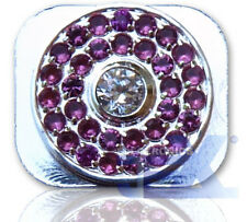 Crystal/Diamond Silver Home Button for Iphone 5/5C 16GB/32GB/64GB Style 6
