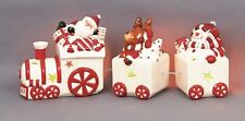 Christmas Decoration Train & Carriages Tealight Tea Light Candle Holder 29cm