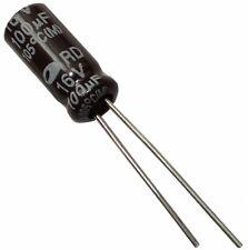 30x Condensateur électrolytique chimique 100µF 16V THT  1000h Ø5x11mm radial