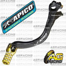 Apico Black Yellow Gear Pedal Lever Shift For Suzuki RM 125 1989-2008 Motocross