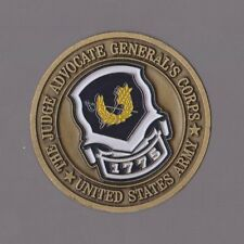 """The Judge Advocate General's Army    Challenge Coins 1.5 """" DIA"""