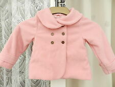 Girls Pink Coat Size 2 - 3 Years ' Dunnes '