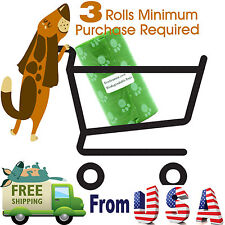 Top Rated EcoJeannie Biodegradable Dog Poopbags 20 Bags(20 X 1 Roll) Poop Bags