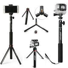 Extendable Selfie Stick With Bluetooth Remote Shutter+Tripod Mount for CellPhone