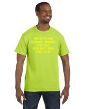 NWOT C2   T-shirts  Medium  Safety Green FOL Best short sleeves style 5930 verde