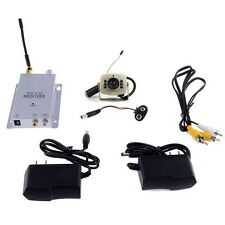 6 Led Night Vision 1.2G 380TV Lines Wireless Mini Camera + Receiver Combo