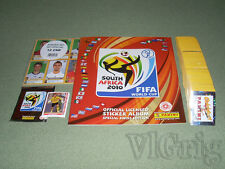 2010 FIFA WC WM South Africa PANINI Swiss - empty album + master set stickers