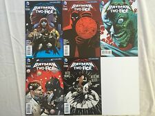 BATMAN AND ROBIN 24 TO 28  THE BIG BURN ORIGIN TWO FACE STORY ARC    DC NEW 52