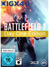 Battlefield 1 Day One Edition Key [PC Spiel] EA ORIGIN Download Code BF1 D1 EU