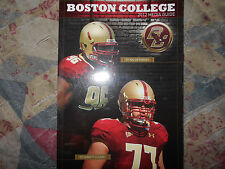 2012 BOSTON COLLEGE EAGLES FOOTBALL MEDIA GUIDE Yearbook Program BC College AD