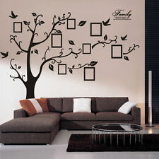 Large Photo Picture Frame Family Tree Removable Wall Sticker Decor Decal OY