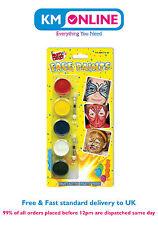 Party Face Paint Children Kids MakeUp Face Paint Set Fancy Dress Party Crazy Fun