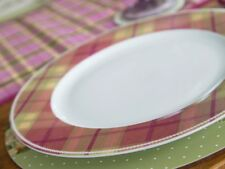 Katie Alice Highland Fling Tartan Fine China Shabby Chic Plato