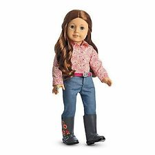 American Girl Saige's Parade Outfit w/ Shirt Jeans Belt Boots  NEW  SAIGE